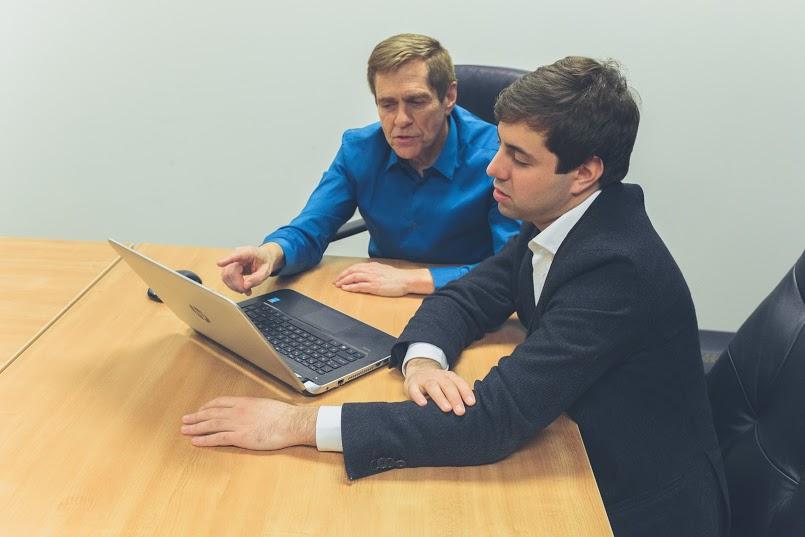 Jack Coaching Student on Business Writing